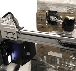 E-FASA Actuator Arm Labeling on Pallet