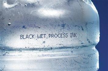 ink to penetrate a layer of condensation