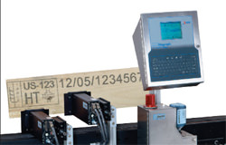 IJ3000 Pallet Marking system from Diagraph