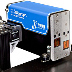 TJ1000 Thermal Printhead Mounted