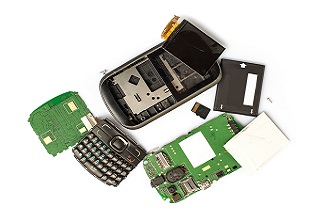 Assortment of Electronics components